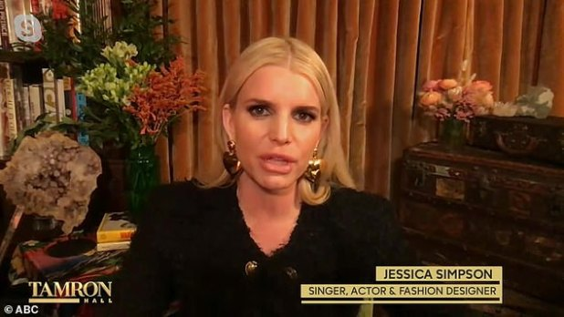 Sobriety Update: Jessica Simpson quit alcohol in November 2017, explaining that she had not `` thought about alcohol '' amid the ongoing coronavirus pandemic during a remote appearance on The Tamron Hall Show.