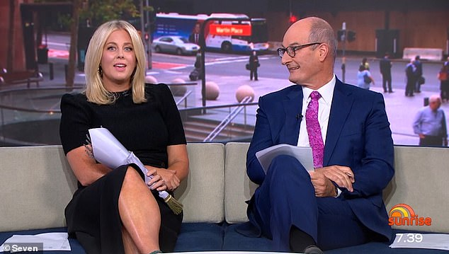 Tension? The Sydney Morning Herald reported on March 8 that Sam and Kochie's professional relationship had hit an 'all-time low' in the months before her resignation