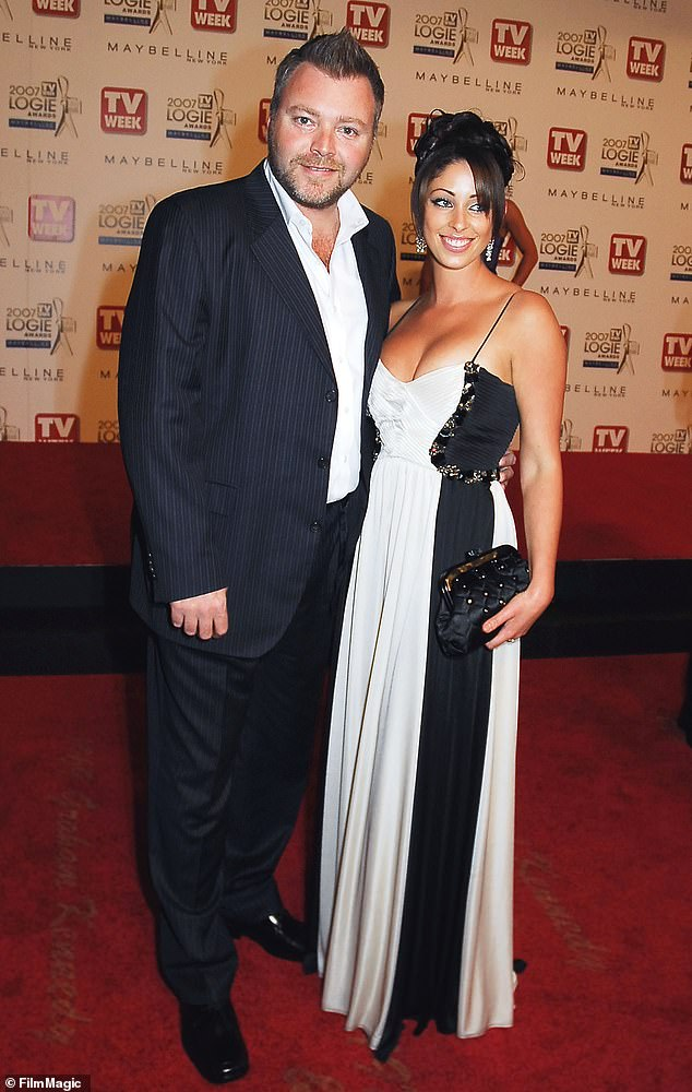 'Devastated': Radio presenter Kyle Sandilands has spoken of his heartbreak following his short-lived marriage to pop star Tamara Jaber from 2008 to 2010. Pictured here in 2007