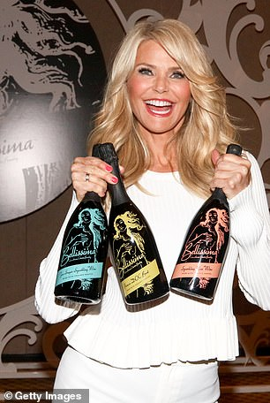 Dobrev and Hough are just the latest celebrities to jump on the bandwagon of having their own wine label. Supermodel Christie Brinkley has her own brand too