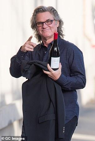 Kurt Russell also has his own wine as do Cameron Diaz, Mary J. Blige, Danica Patrick, Snoop Dogg, Post Malone and Jon Bon Jovi