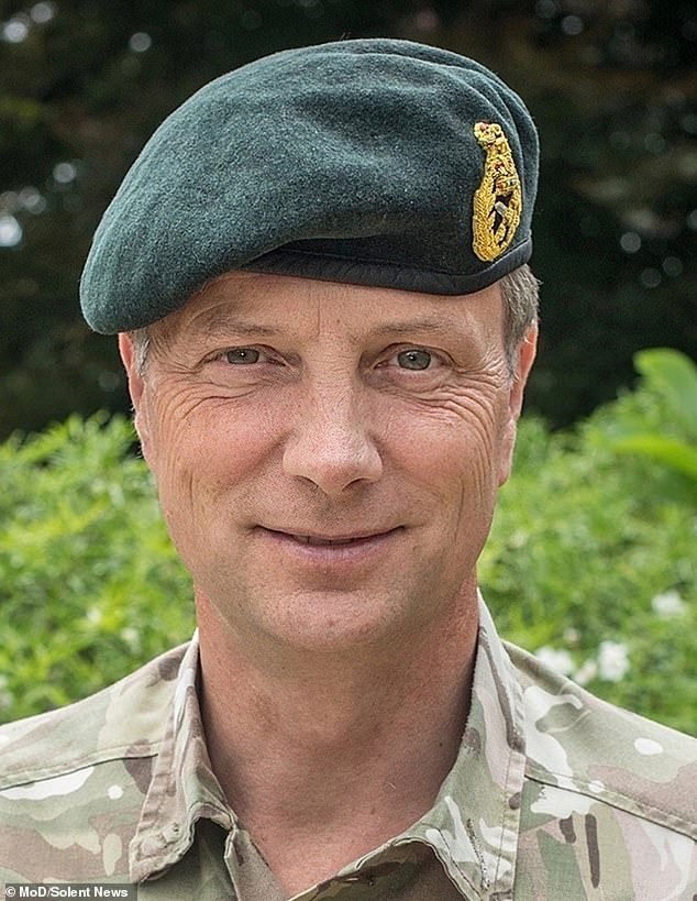 Major General Nick Welch has been jailed at Bulford Military Court for 21 months