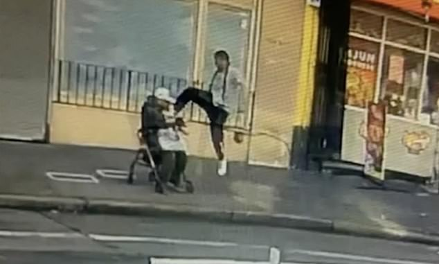 Surveillance video captured the shocking attack that took place on February 20, 2020, in the Tenderloin district