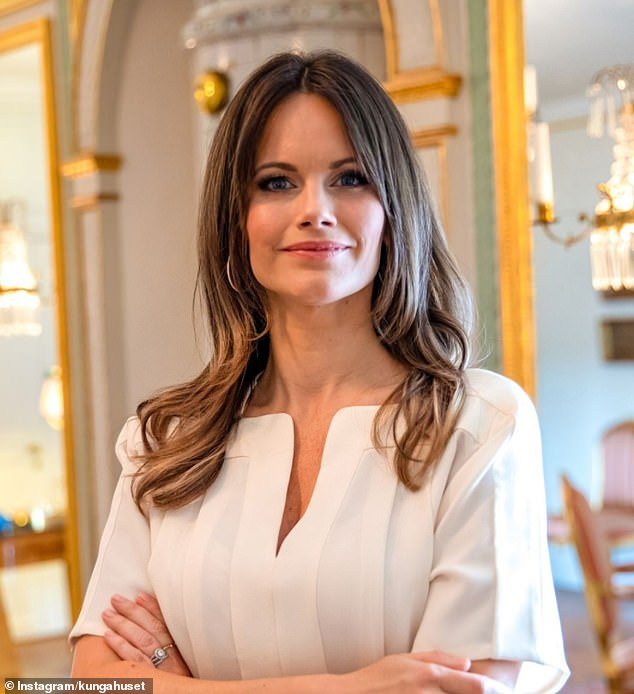 In December, the Swedish royal family posted this photo to mark Sofia's birthday