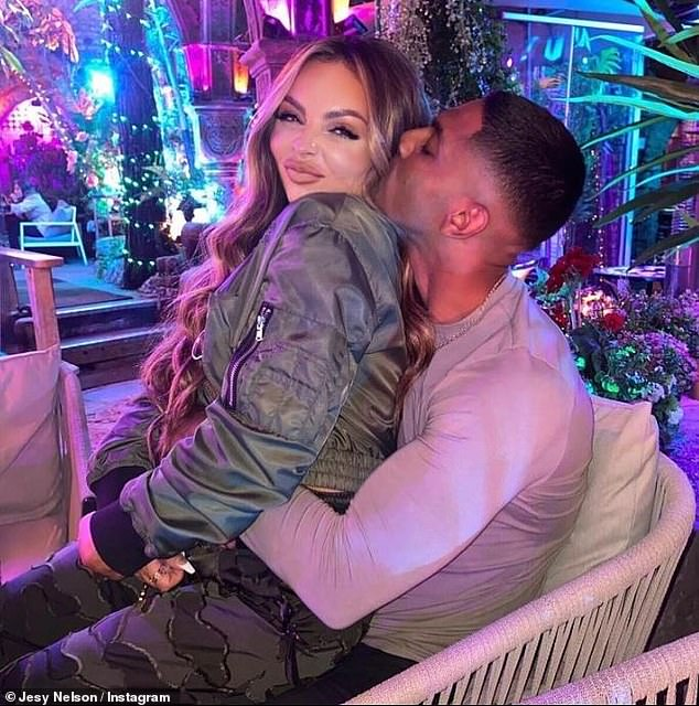 It's over: Jesy Nelson's on-off boyfriend Sean Sagar has reportedly joined the celebrity dating app RAYA amid claims he has split from the Little Mix star