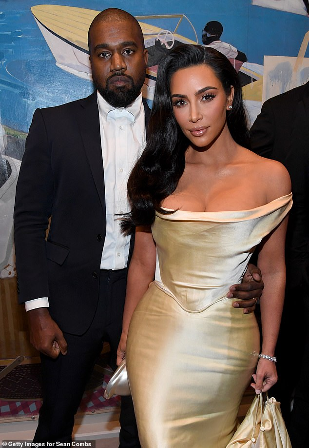 Shock:The reality star, 40, who filed for a divorce from her estranged husband last month, was seen speaking to the camera about the split, as she revealed the rapper, 43, has been residing at their Wyoming ranch while she remained at home (pictured in 2019)