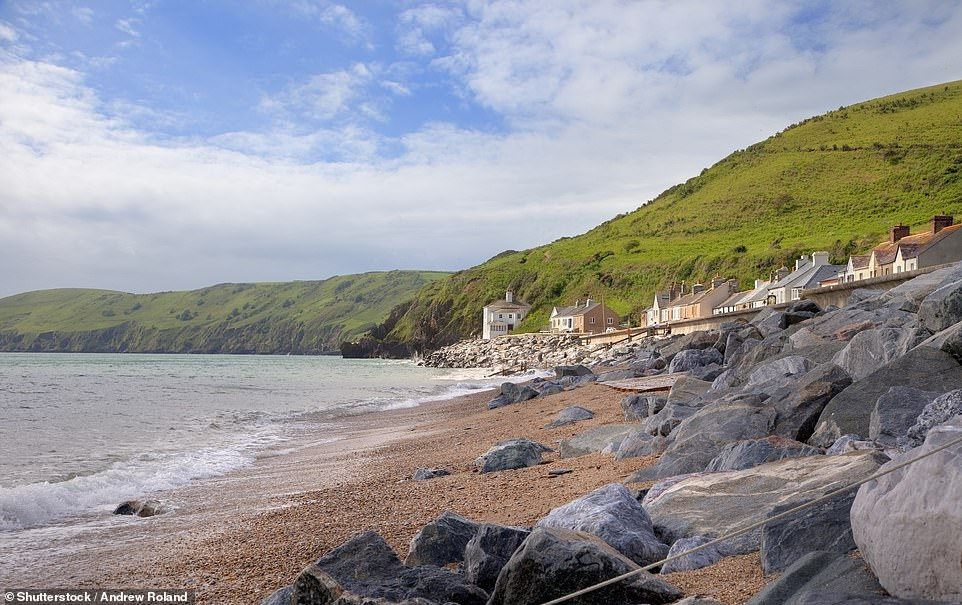 Beesands, pictured, is on the South West Coastal path and is popular with walkers exploring South Hams