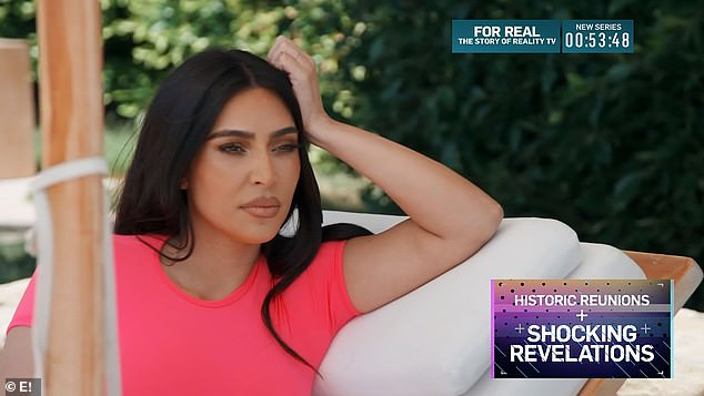 Heartache:Kim Kardashian gave insight into the latest developments in her split from Kanye West on Thursday's episode of Keeping Up With The Kardashians