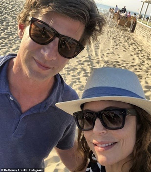What a duo: Bethenny posted this selfie with Paul on his birthday last year