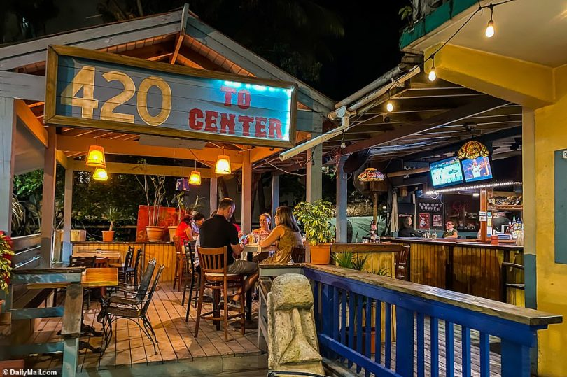 A barman at 420 to Center, a dive bar popular with St. John locals, confirmed to Detective Sergeant Richard Dominguez, a Virgin Islands-based FBI agent who is assisting the VIPD, that he saw the couple during his shift