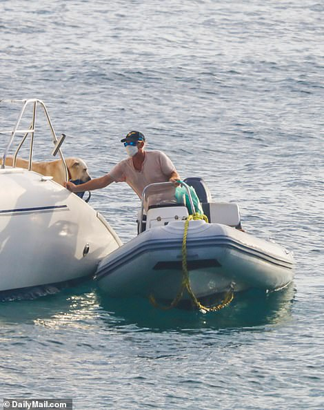 Bane was last seen on Wednesday afternoon taking a dinghy to the shore before returning to his 47-ft catamaran with a plastic bag, sneakers and towels