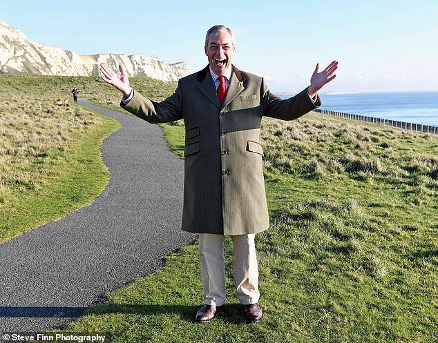 Mr Farage is looking forward to a new chapter, losing weight and exercising more