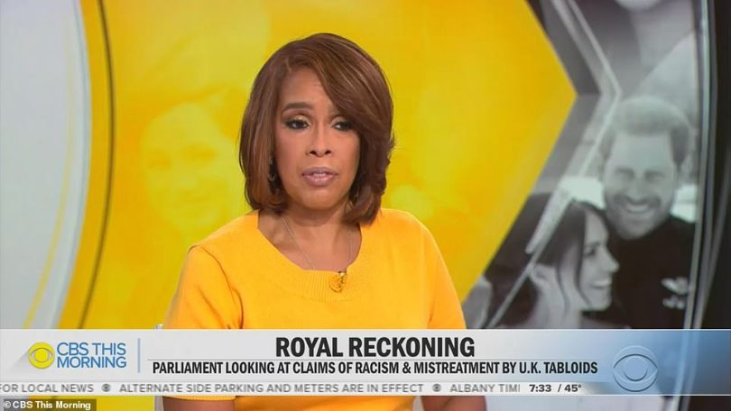 TUESDAY, MARCH 16: Oprah's best friend Gayle King has revealed on US TV that Prince Charles and Prince William both phoned Harry to discuss the interview but the calls were 'unproductive'