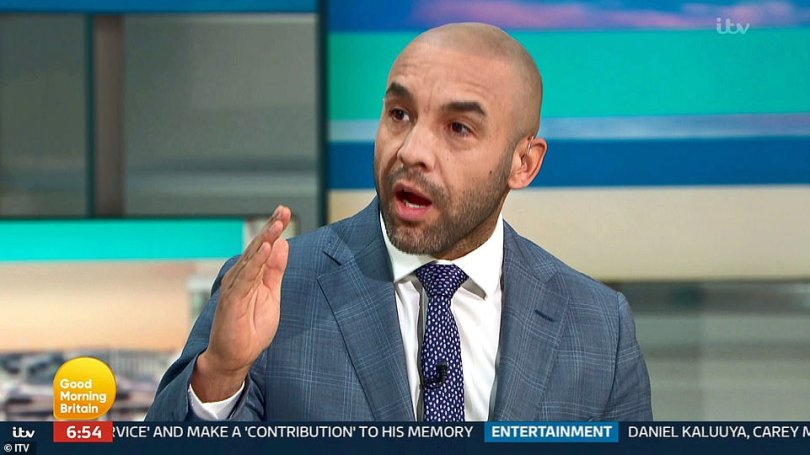 Alex Beresford seemed equally uptight and launched into a very personal attack. 'I understand that you don't like Meghan Markle,' he said, 'you've made it so clear a number of times on this programme. 'I understand you've got a personal relationship with Meghan Markle or had one and she cut you off… she's entitled to cut you off if she wants to. 'Has she said anything about you since she cut you off? I don't think she has, but yet you continue to trash her…'
