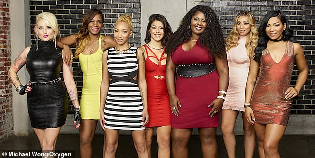 The Norfolk, Virginia, resident (third from left) appeared in the 17th season of BGC, a reality show known for its loud arguments and wild fights