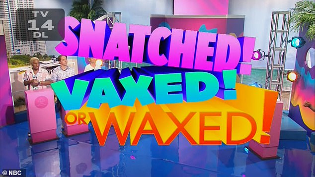 Saturday Night Live had skewered Miami's wild Spring Breakers with crude 'waxed, vaxxed or snatched' gameshow during its lackluster cold open