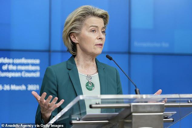Ursula von der Leyen has been under massive pressure for the EU's shambolic vaccine rollout