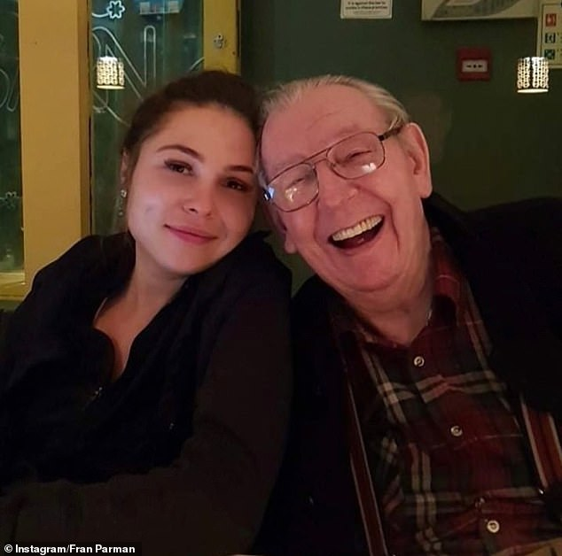 Family:Fran put on more than three stone while she cared for her elderly grandfather, who has since passed away, during the UK's first nationwide lockdown in 2020