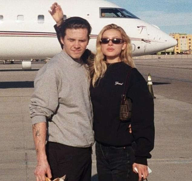 Things were moving quickly and, by mid-January, they were jet-setting off together