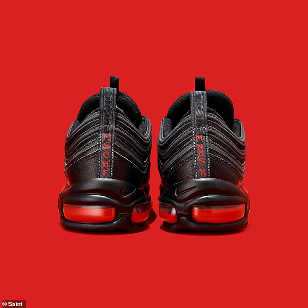The 666 pairs of special edition footwear will be sold for $1,018 from Monday