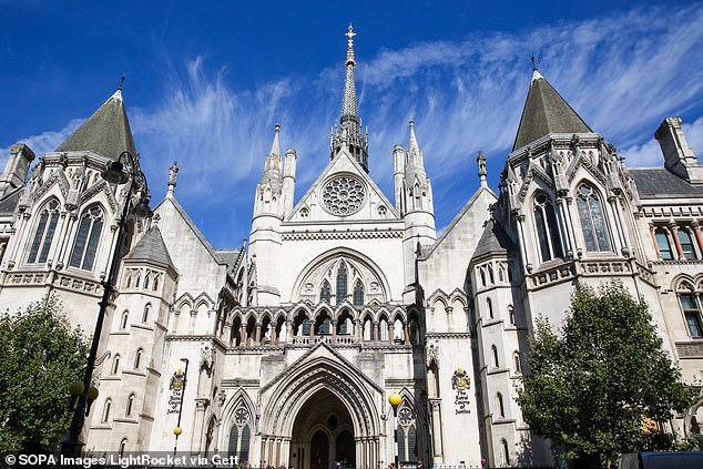 In the original hearing, the High Court (pictured) heard that Jean, described as 'feisty and stubborn', had given detailed reasons for writing her daughter Susan out of her 2013 will