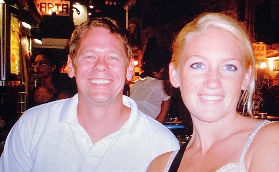Corie Stevenson was married to fellow American Bane, 44, for six years and came forward to say her ex 'went to jail for kicking my a**'