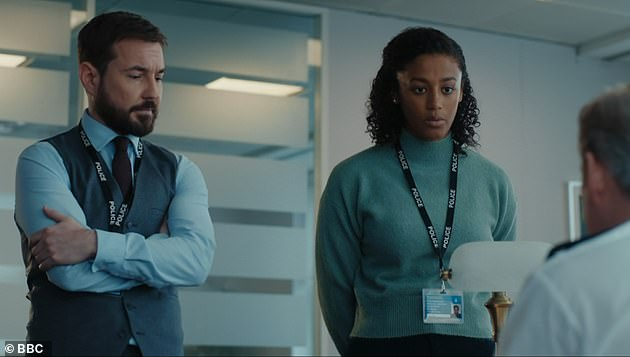 Theories: Line Of Duty fans are convinced DC Chloe Bishop is actually Tony Gates' daughter as they claimed on Sunday the characters' shared name 'can't be a coincidence'