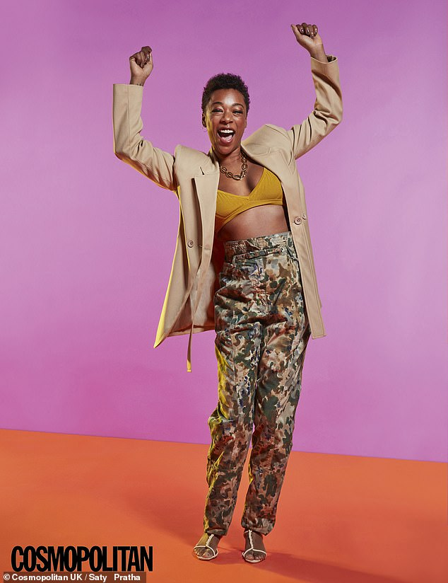 'We built the relationship backwards': The Handmaid's Tale star Samira Wiley reflected on her early romance with wife Lauren Morelli in an interview with Cosmopolitan UK on Tuesday