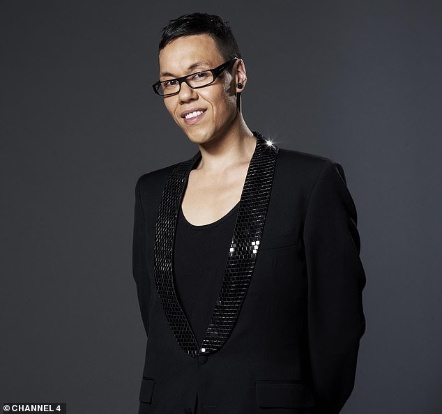 Realisation: Gok (pictured in 2014) explained of his youth: 'It wasn't until I was 21 stone and moved to London to go to drama school that I saw people looked very different to me'