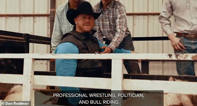 Texas House candidate Dan Rodimer is facing ridicule for transforming into a cowboy for his latest political run. The New Jersey native ran last year for Congress in Nevada