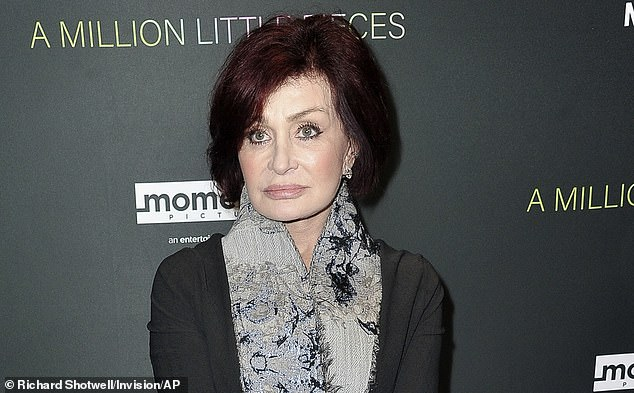 Generous: Sharon Osbourne will reportedly leave The Talk with a '$5 to $10million payout' after her departure from CBS's flagship talk show following her controversial defense of Piers Morgan's criticism of Meghan Markle