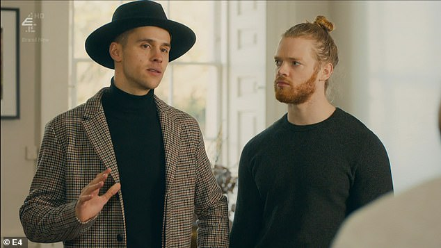 MIC is back and Fred has an announcement: Julius is joining their countryside retreat. He turns up looking like the priest from The Exorcist - turtle neck and overly large fedora