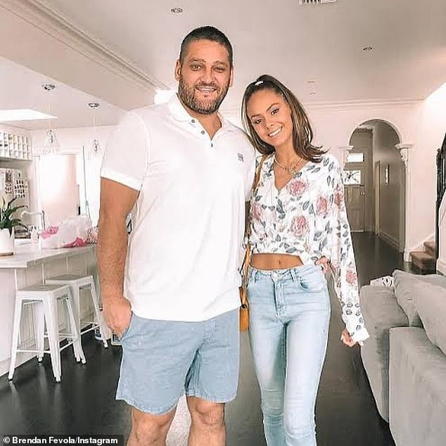 'My daughter was asked to go on this year, but she said no': Brendan Fevola (left) has revealed his stepdaughter Mia (right) rejected an offer to appear on Channel Seven's SAS Australia