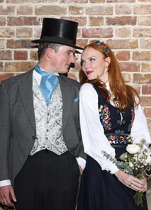 Weddings were banned for most couples until lockdown was eased yesterday, but Lib Dem grandee Lord Oakeshott's son, Luke, cited exceptional circumstances so he could exchange vows with Norwegian model Sylvia Flote on Saturday