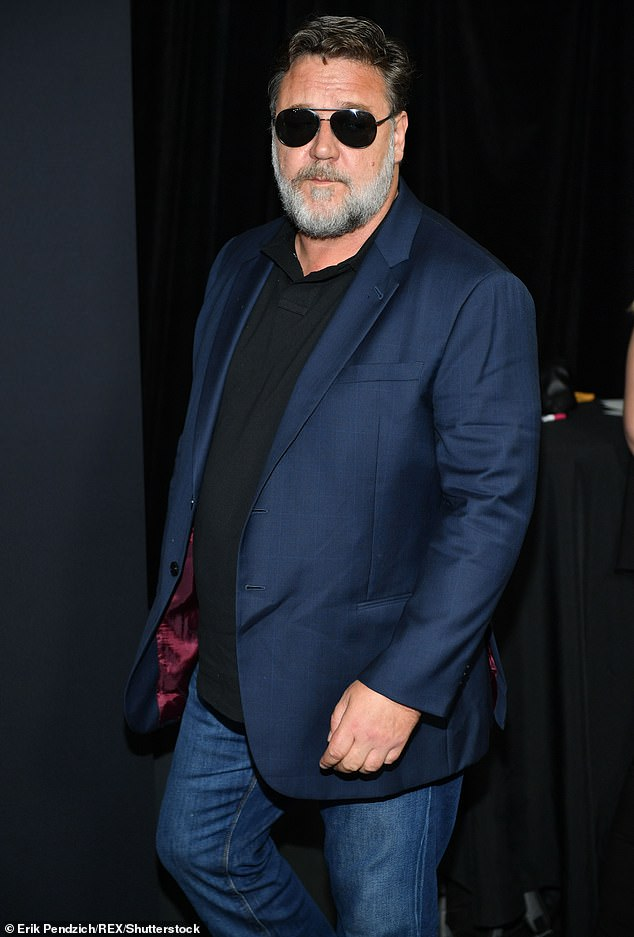 Crowe, 56, is currently in Australia filming for his cameo appearance in Thor: Love and Thunder