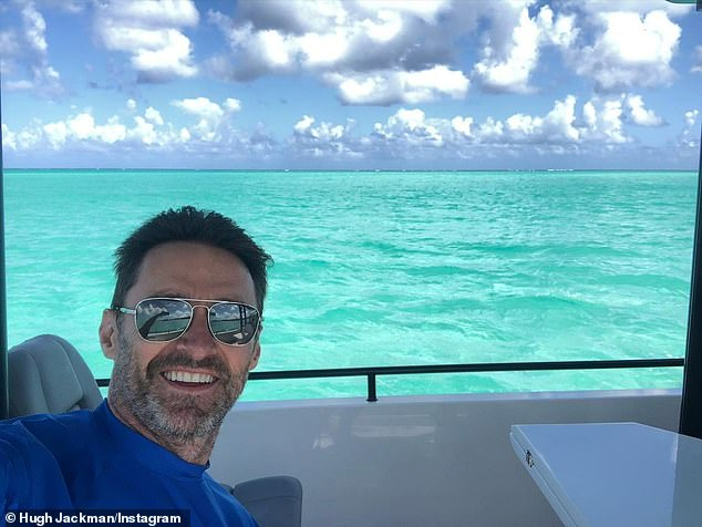He tried!Hugh Jackman (pictured) enjoyed a surfing session on Tuesday, but it didn't all go to plan. The actor, 52, shared a number of videos and photos from the excursion, admitting that he fell off the board after taking the impressive footage