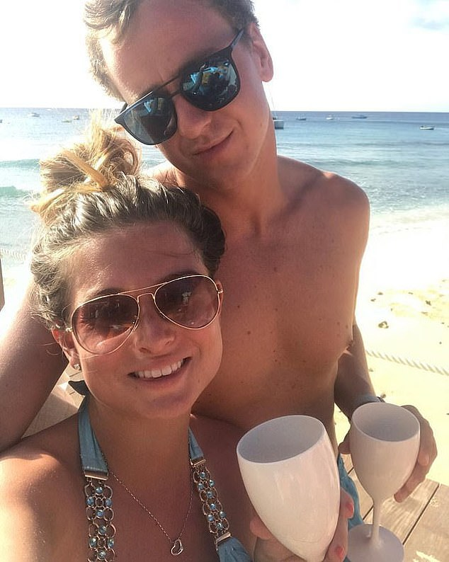 Scandal:Zara and her partner Elliot Love, 30, were arrested at the island's airport and faced a jail sentence of up to a year, before both being let off with fines