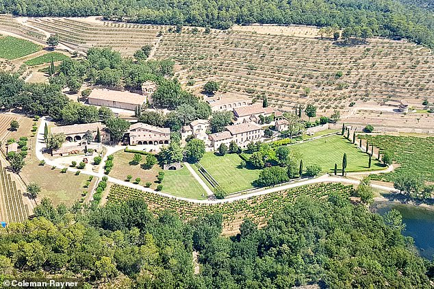One of the main assets at stake in the acrimonious divorce case is the former couple's Chateau Miraval vineyard and castle in Correns, France. Brad and Angelina bought the property for $67 million in 2008 and married there in August 2014