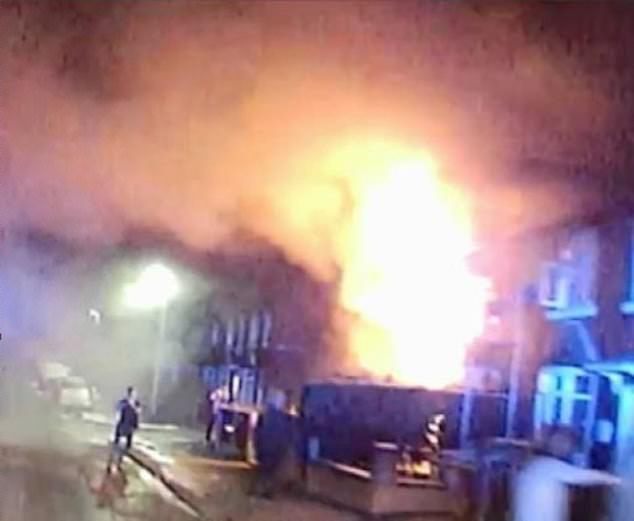 Zak Bolland, David Worrall and Courtney Brierley were jailed over the blaze after a trial in 2018