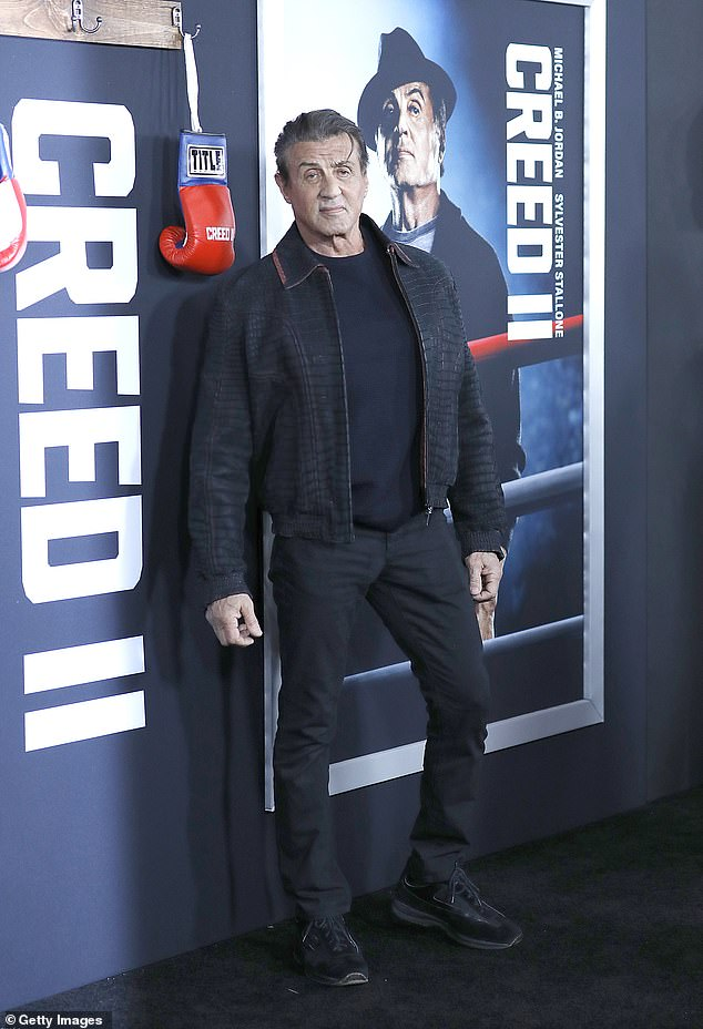 The latest: Sylvester Stallone, 74, took to Instagram on Tuesday to detail an upcoming Rocky prequel project he's working on for a 10-part streaming show. He was snapped in 2018 in NYC