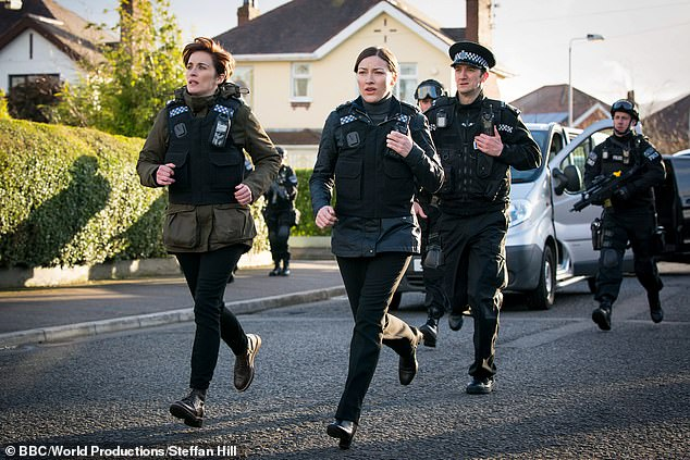 What's going on? It comes after Sunday's Line of Duty left fans with even more questions as they flocked to Twitter asking whether DCI Jo Davidson could be being blackmailed by an OCG