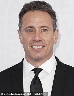 CNN anchor Chris Cuomo is seen above in May 2019