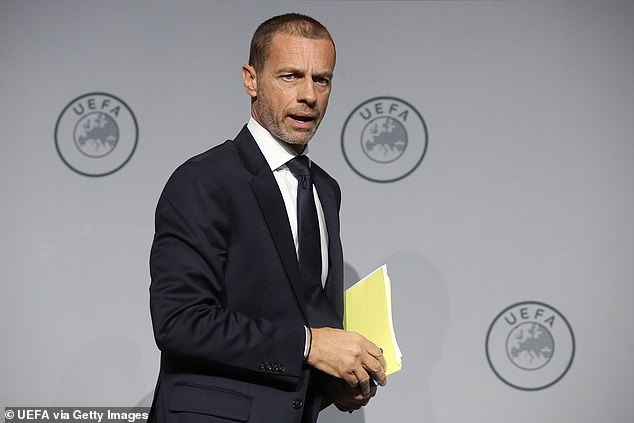 The amended rule is set to be introduced from the beginning of next season by UEFA president Aleksander Ceferin