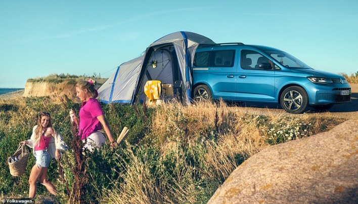 Compact camper is coming to Britain: VW confirms the new - and smallest - California campervan will be available to order from May - and first deliveries will arrive in the summer