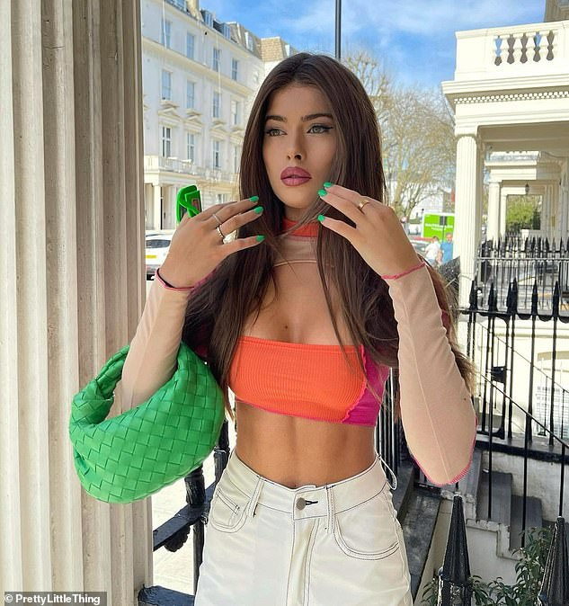 Wow:Tamara Francesconi looked incredible as she posed for sizzling Instagram snaps on Tuesday