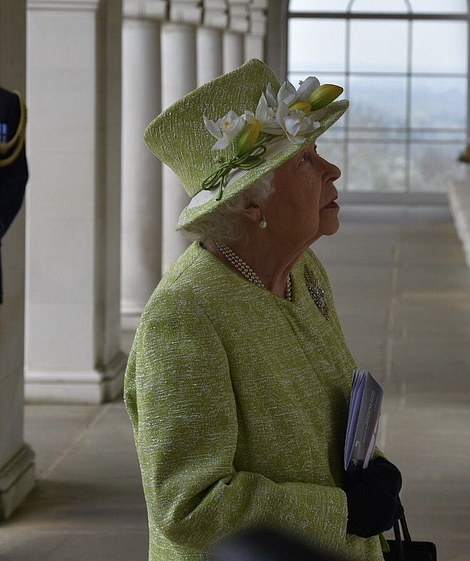 The Queen today, March 2021