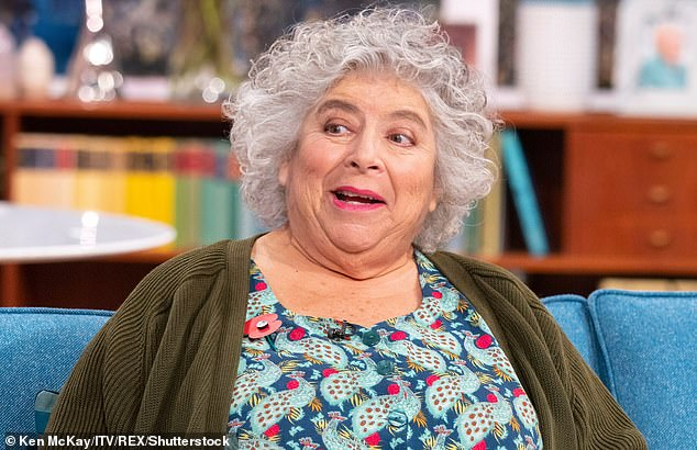 Miriam Margolyes is the fourth Harry Potter star to feature on the list. The British-Australian actress played Professor Sprout in the series