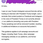Facebook slammed for censoring Donald Trump interview with Lara 💥💥