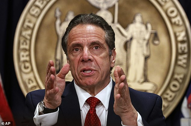 'This is a historic day in New York – one that rights the wrongs of the past by putting an end to harsh prison sentences, embraces an industry that will grow the Empire State's economy,' Cuomo said