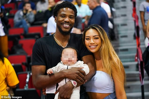 Questions: The professional basketball player motioned to prove the paternity of the pair's two-year-old son, Makai, in a Minnesota courtroom on Monday and has reportedly already taken a test to learn if he is the biological father, according to Us Weekly